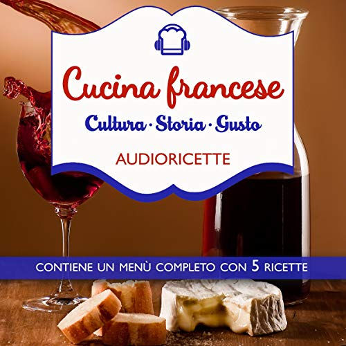 Cucina francese audiobook cover art