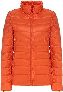 AbelWay Women's Ultra Light Weight Outdoor Coat Packable Outwear Puffer Down Jacket