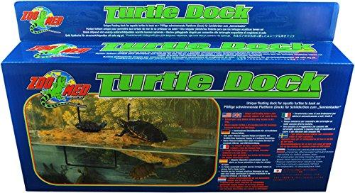 Zoo Med Turtle Dock 2012 -M- 18cm x 39cm Einzigartige Schwimminsel für im Wasser lebende Tiere