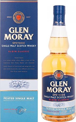 Glen Moray Elgin Classic Peated Single Malt Scotch Whisky in Gift Box - 700...