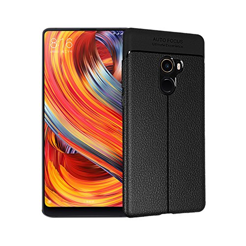 Funda® Fermezza e Flessibilità Smartphone Custodie per Xiaomi Mi MIX 2(Nero)