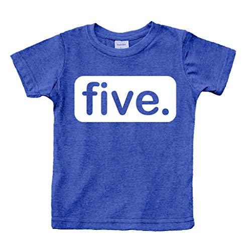 Unordinary Toddler 5th Birthday Shirt boy 5 Year Old boy Birthday boy Shirt 5 Five Gifts Fifth Shirts (Charcoal Blue, 5y)