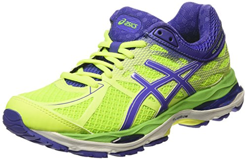 ASICS Gel-Cumulus 17 - Scarpe Running Donna, Giallo (Flash Yellow/Acai/Jasmin Green 0733), 35 1/2 EU