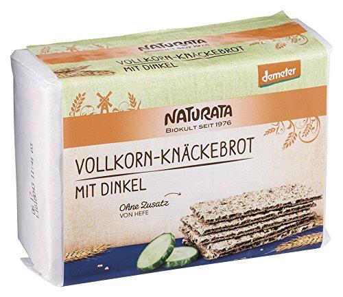 Naturata Bio Vollkorn-Knäckebrot mit Dinkel (12 x 250 gr)
