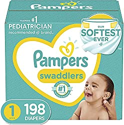 Disposable diapers Pampers