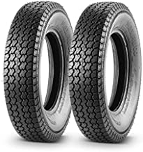Set of 2 Trailer Tire 205/75D15 205 75 15 Load Range C 101/97L