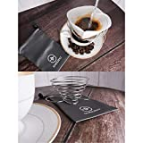 SHOUDU Collapsible 306 Stainless Steel Pour Over Coffee...