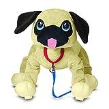 Peppy Pup- Carlino Perro Interactivo, 28 cm (Giochi Preziosi PEP04000)