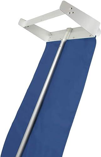 Signstek Snow Roof Rake 21ft – Snow Removal Tool with Wheels and Adjustable Extended Handle for Cedar Shake Roof, Met...