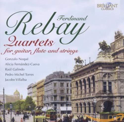 Rebay: Quartett für Gitarre, Flöte & Streicher