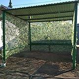 WZJN Voiture Tente Camouflage Filets Pare-Soleil Séchage Rapide Woodland Army Formation Militaire Filet Couverture De Voiture Tente Ombre Camping Abri De Voiture,2 * 6m