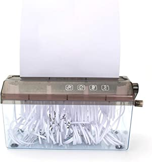 ACQUIRE Shredder; Shreds Up to 25 Sheets; Office Supplies Shredder Small Letter Open A4 Plastic for Home