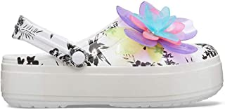 Crocs Hyper Tropic Platform Clog Womens Shoes White