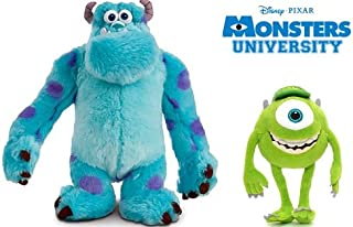 Disney Monsters University New Style Plush Doll Set Featuring Sully James P.