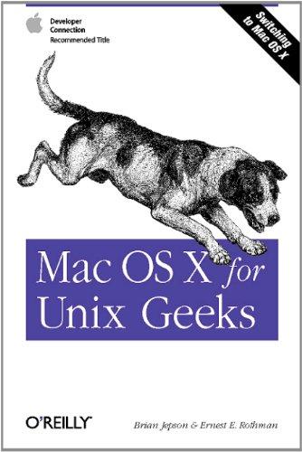 Mac OS X for Unix Geeks (English Edition)