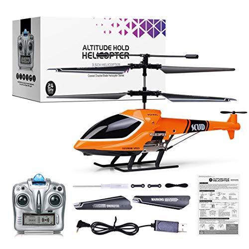 tengod SUBOTECH S770 4CH RC Altitude Hold, elicottero elettrico radiocomandato 2.4 G, pronto per volare, modello giocattolo con luci per bambini, adulti e principianti