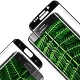RIIMUHIR Panzerglas Schutzfolie für Samsung Galaxy S7 Edge,3D Volle Bedeckung Panzerglasfolie mit [Anti-Kratzer] [Anti-Fingerprint] [9H Härte], Displayschutzfolie Folie für S7 Edge - [2 Stück]