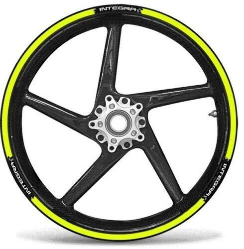 labelbike Set Tiras Adhesivo Compatible Ruedas 17 - Honda Integra