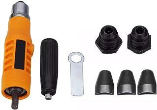 BXU-BG Riveter Adapter Rivet Verktyg Tre Claw Clip nithuvuden Tillbehör Fit för borrmaskin Borrtillbehör