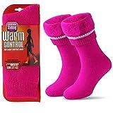 Térmicos de Invierno Calcetines de Lana Super Calor Gruesa Calentar Suave Cómodo Calcetines de Mujer Hombre (rosa, M/Hombre 36-41; Mujer 37-42)