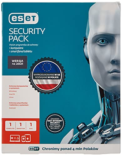 ESET Security Pack (1 POS; 12 Months; Box)