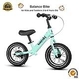 12 Sport Balance Bike Bici Senza Pedali, età da 18 Mesi A 5 Anni,Bicicletta Senza Pedali Ruota Gomma...
