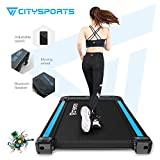 CITYSPORTS Treadmill 440W Motor, Electric Walking Machine Bluetooth Built-in Speakers, Adjustable Speed, LCD