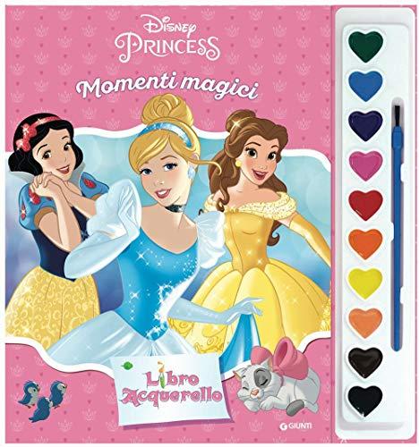 Principesse. Momenti magici. Libro acquerello. Con gadget