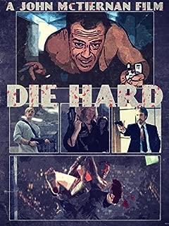 Die Hard 1988 Retro Art Movie Painting Lighter John McClane Characters Bruce Willis 24x18 Poster Print