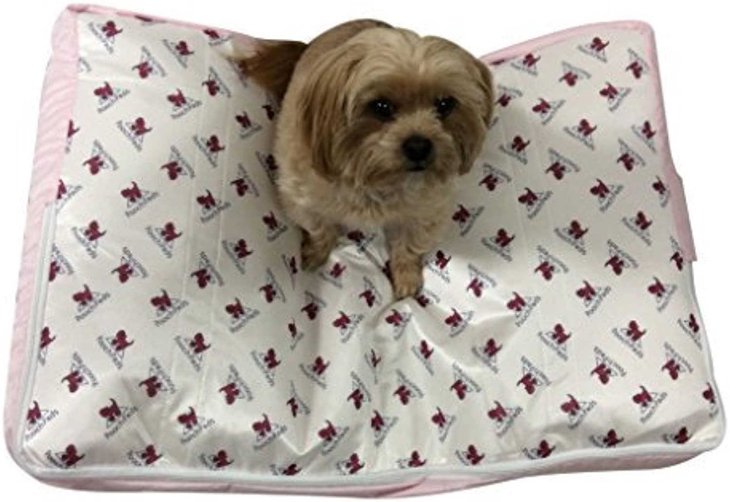 PoochPads Dog Bed, Pink, Small 30 x 21 by Pooch Pads