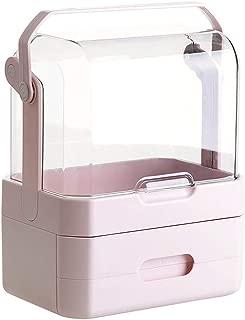 Toiletry Bags Makeup Storage Rack Desktop Storage Rack Portable Multi-Layer Finishing Display Stand Dustproof and Waterproof Cosmetic Storage Rack Home Desktop Decorative Storage Storage Rack