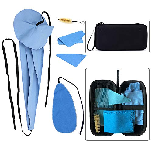 Luvay Saxophone Cleaning Care kits with Case (EVA Box) for Clarinet, Flute and Wind & Woodwind instrument thumbnail image
