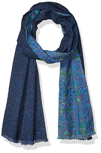 Robert Graham Herren STEELE Modischer Schal, blau, 14 X 70