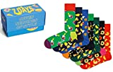 Happy Socks 7-Pack 7 Days Food - algodón talla: 36/40