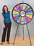Marketing Holders 15-30 40 Inch Black Big Prize Wheel 63038