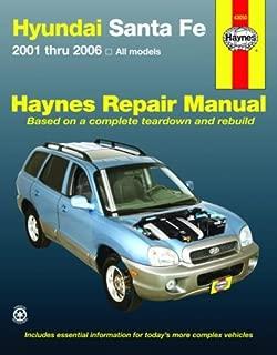 Hyundai Santa Fe  2001-2006 (Haynes Repair Manual)