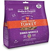 Stella & Chewy's Freeze-Dried Raw Tummy Ticklin' Turkey Dinner Morsels Cat Food, 3.5 oz. Bag