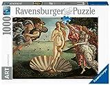 Ravensburger Puzzle 1000 Piezas, Botticelli: El Nacimiento De Venus, Puzzle Arte, Puzzle para Adultos, Rompecabezas Ravensburger de Alta Calidad