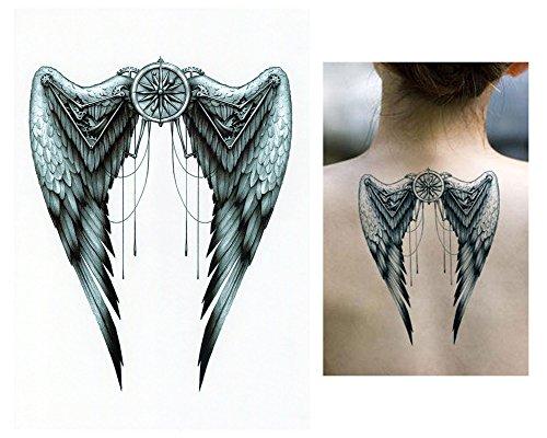 Tatuajes temporales Tempo rary Tattoo Fake Tattoo–Ángel Alas de