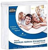 Utopia Bedding Premium 135 GSM Waterproof Mattress...