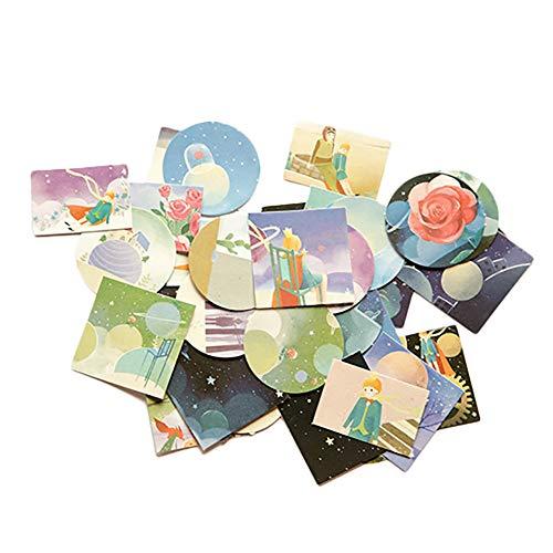 Hacoly Aufkleber DIY Scrapbooking Deko Sticker Bomb Kinder Fotoalbum Sticker Kleiner Prinz Aufkleber Sticker Set DIY Notizbuch Fotoalbum Tagebuch Scrapbooking Deko