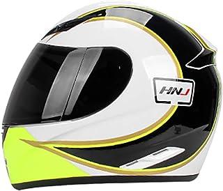 Sun Moon Graffiti Full Face Motorcycle Helmet, Unisex Adjustable Vent Removable Lining Breathable Keep Warm Four Seasons Y...