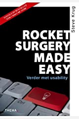 Rocket surgery made easy: verder met usability (Dutch Edition) Paperback