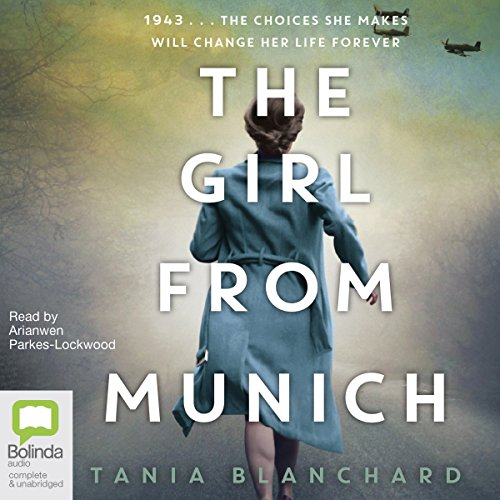 The Girl from Munich audiobook cover art