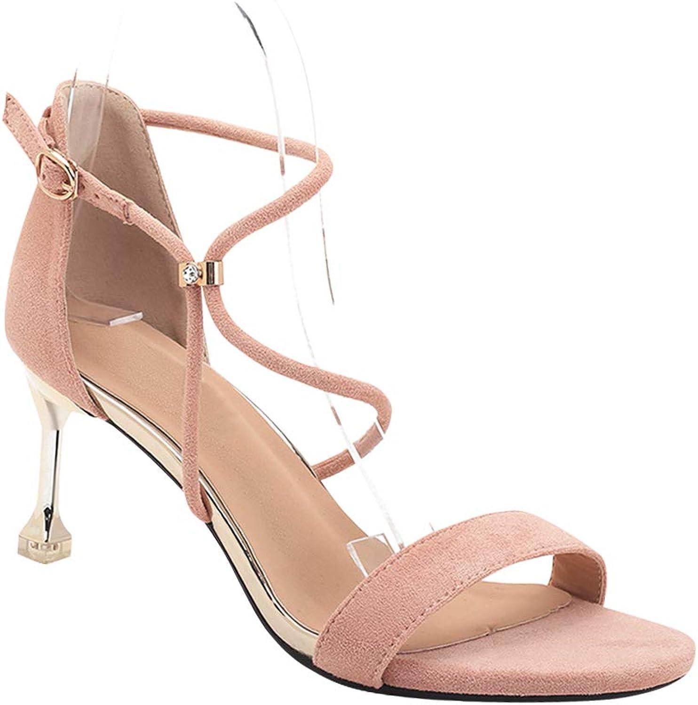 Yudesun Women shoes Heeled Sandals - Kitten Heel Peep Toe Ankle Strap High Heels Buckle Wedding Bridal Party Dress shoes