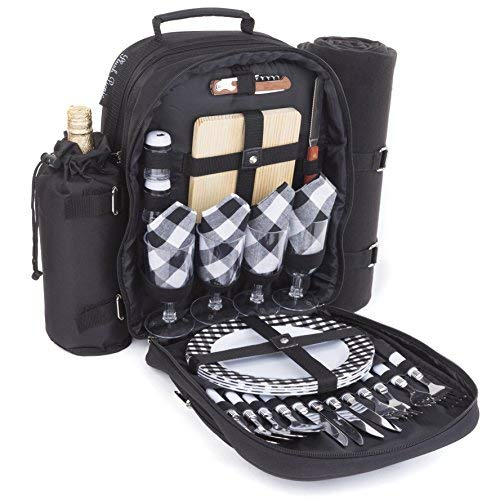 Plush Picnic - Picnic Bag Backpack (4 Person)