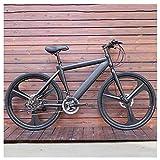 Mountain Bike Bicicleta para joven Bicicletas de montaña for adultos bicicletas MTB Hombres de camino de la bicicleta for las mujeres de 24 pulgadas ruedas ajustables doble freno de disco