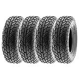 "SunF 26x10-14 26x10x14 Tubeless 6 PR 26"" ATV UTV Tires A021 [Set of 4]"