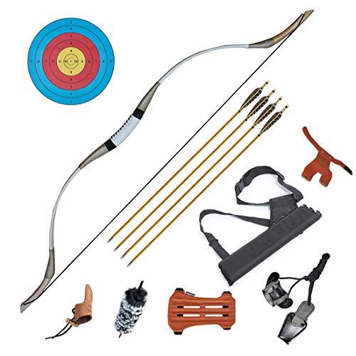 IRQ Traditional Longbow Set 65lbs -...
