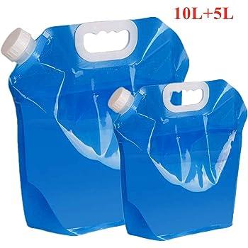 Für Camping Reisen Angeln 10L 20L Faltbarer Wasserkrug Container Bag